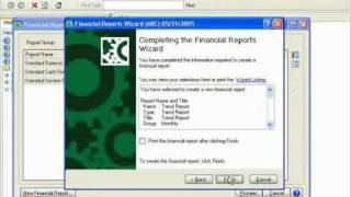Financial Reporting Module for Sage MAS 90 and MAS 200 [Demo]