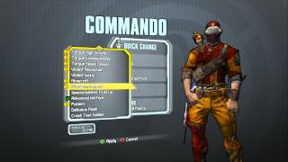 Borderlands 2 - Commando Supremacy Pack (Covert Op head and Advanced Warfare skin)