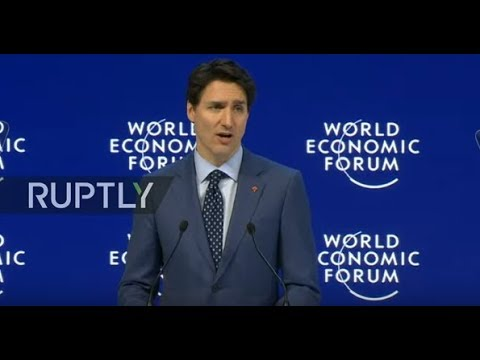 LIVE: World Economic Forum 2018 kicks off in Davos: special address by Justin Trudeau