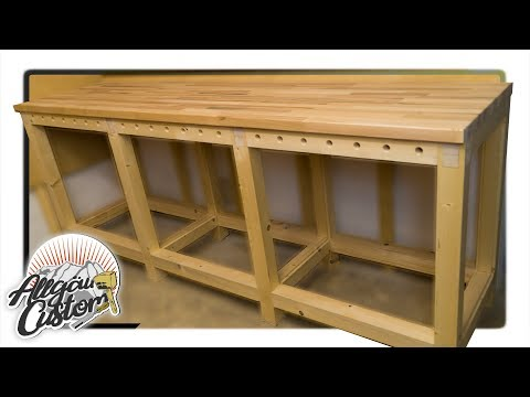Stabile Werkbank Selber Bauen How To Build A Workbench Teil 2 4 Youtube