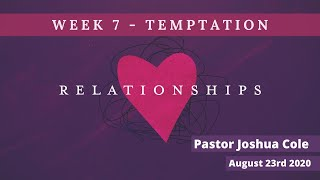 Mildura Church of Christ | Relationships | Temptation