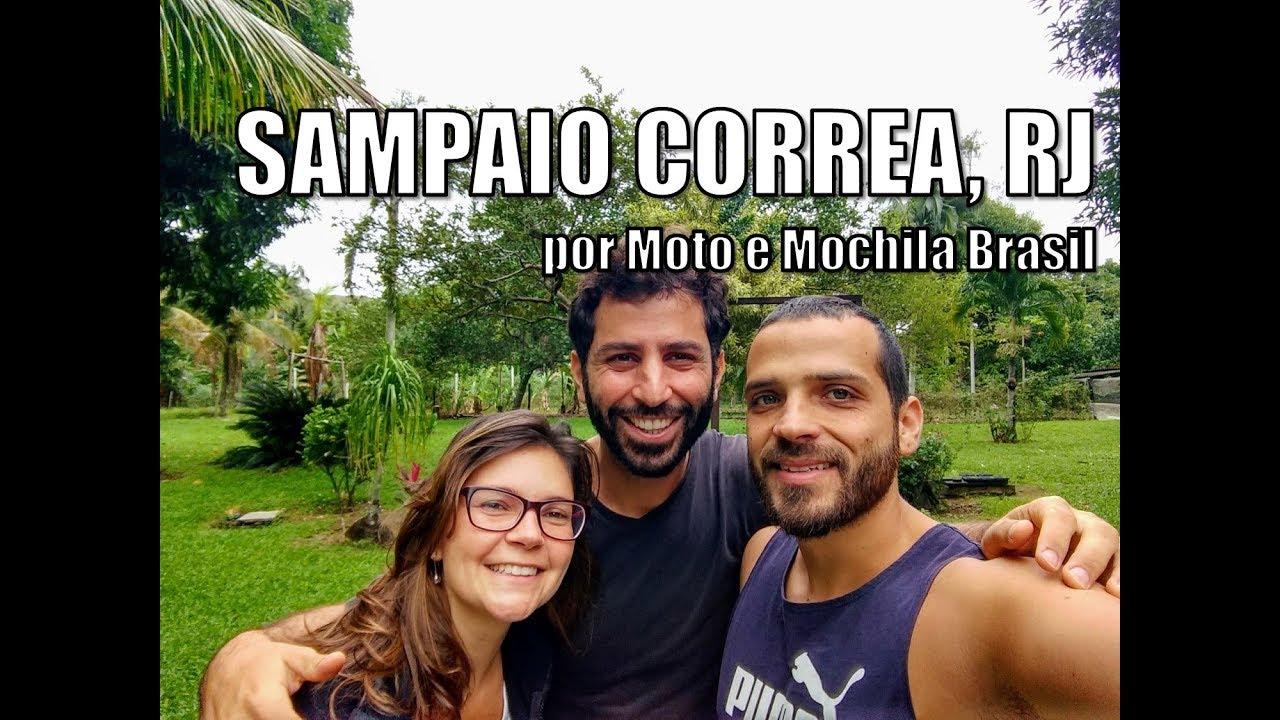 Cachoeira Do Roncador Sampaio Correa Rj Viagem De Moto I Ep 4 Moto E Mochila Brasil Youtube