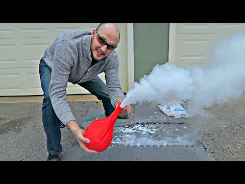 Thumbnail: What Happens If You put Dry Ice Into Giant Balloon?