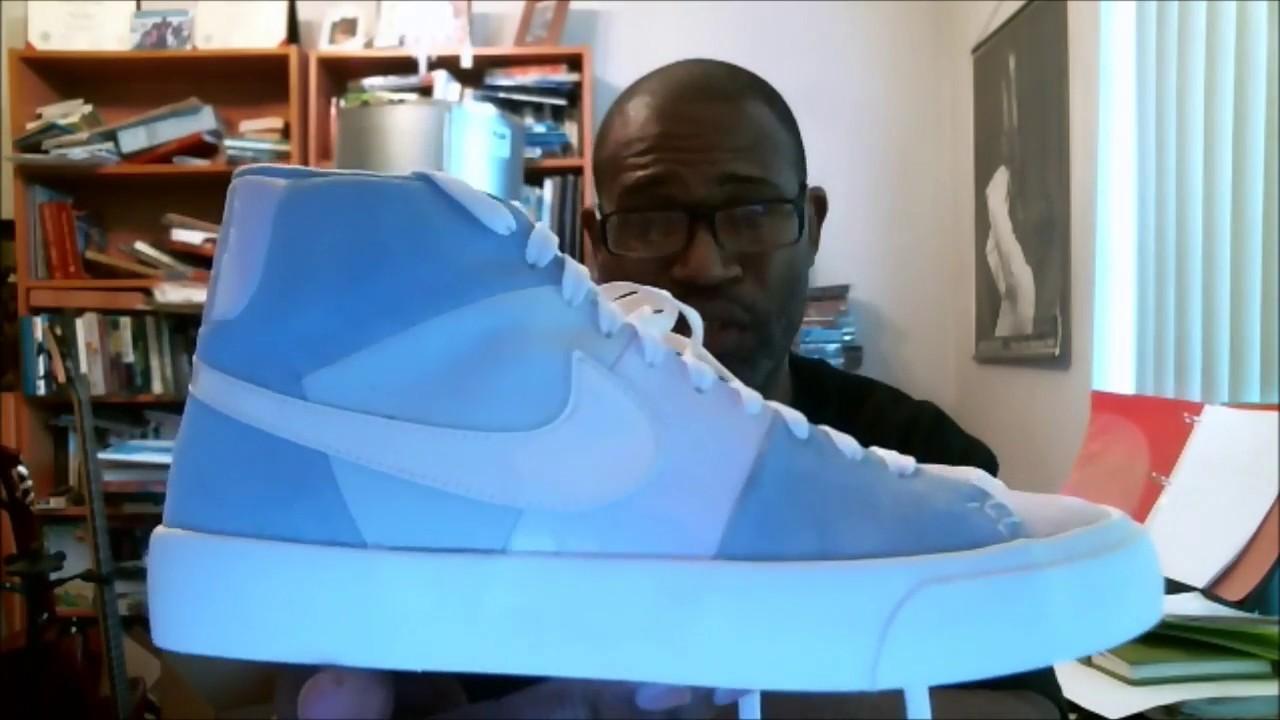 perecer Significativo Mala fe  Nike Blazer Royal Easter QS Arctic Pink/Sail-Leche Blue AO2368-600 |  Authentic Verification - YouTube