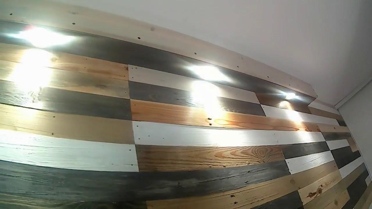 teaser vid o mur en palettes youtube. Black Bedroom Furniture Sets. Home Design Ideas