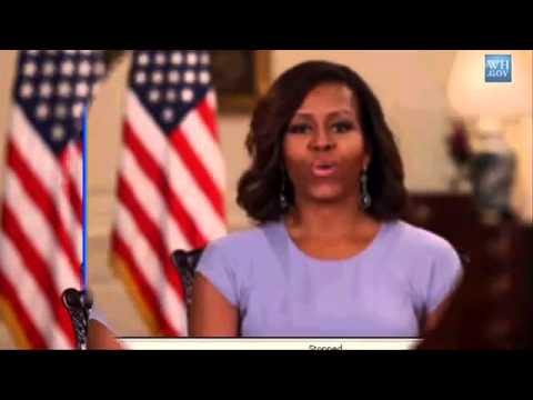 Michelle Obama On The Chibok Girls.