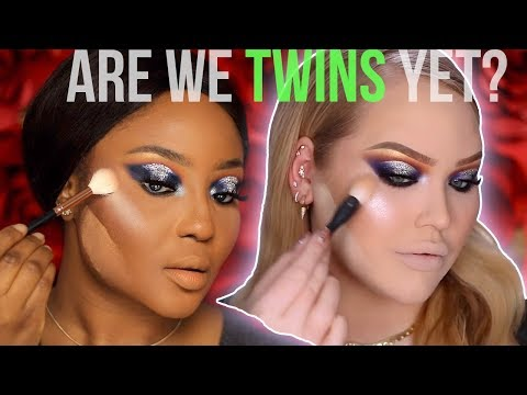 I tried following a NikkieTutorials Makeup Tutorial...and failed