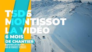 Télésiège TSD6 MONTISSOT, la vidéo du chantier de A à Z - Time-lapse - SEM VALLOIRE - Savoie