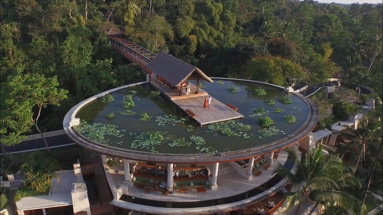 Four Seasons Bali At Sayan A Luxury Resort In Paradise Youtube