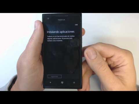 Como resetear Nokia Lumia 900