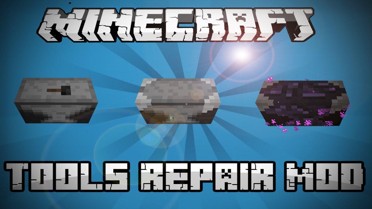 minecraft repair mod