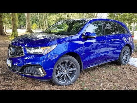 2019 Acura MDX Review // Best Seller-Now With A-Spec