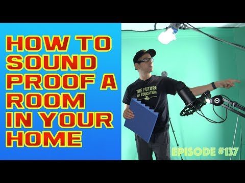 How To Sound Proof A Room In Your Home (or A Door)