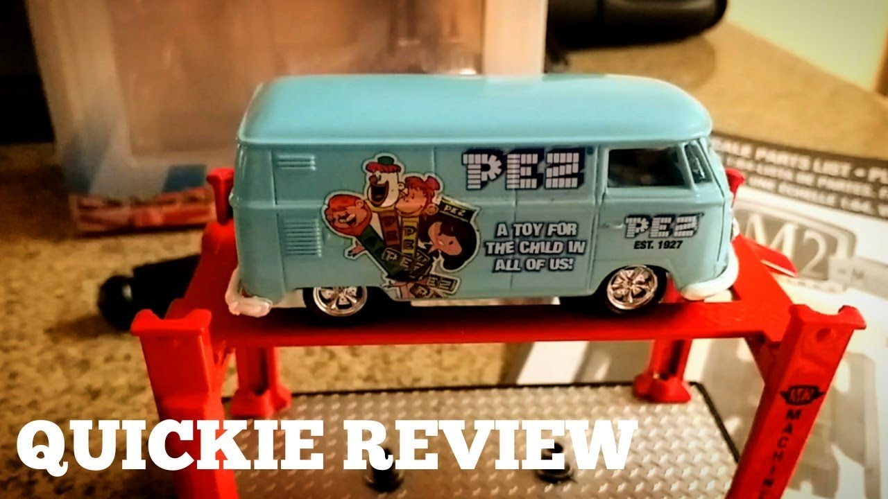 d3b28cf756 QUICKIE REVIEW 09  M2 Machines 1960 VW Delivery Van Model Kit - YouTube