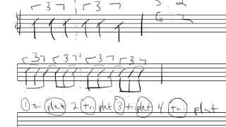 How To Count Quarter Note Triplets