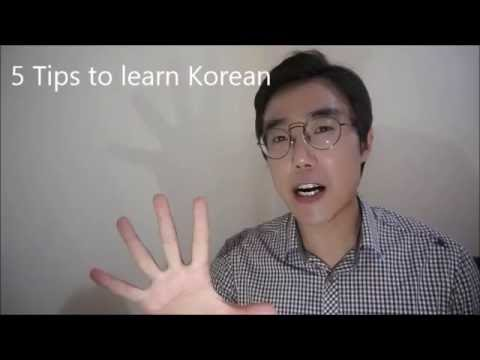 5 Tips to learn Korean language