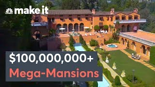 Inside Four $100+ Million Mega-Mansions