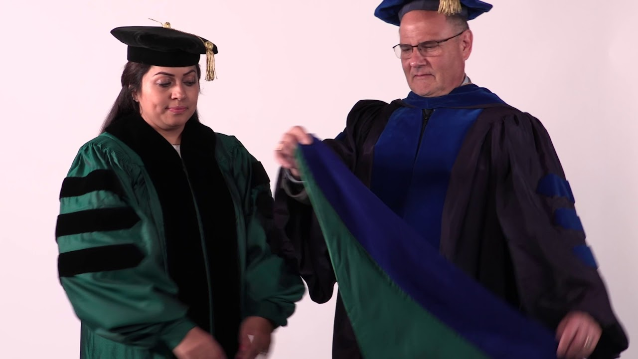 How To Hood Your Unt Graduate Youtube