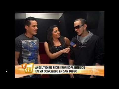 Angel y Khriz Interview In San Diego