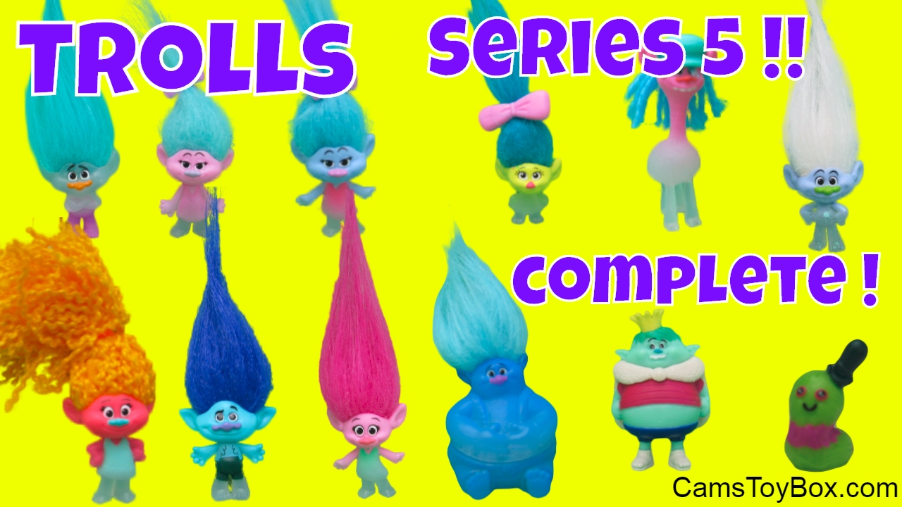 Dreamworks Trolls Series 5 Review Blind Bags Wrong Heads