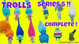 Dreamworks Trolls Series 5 Review Blind Bags Wrong Heads Characters Toy Fun Kids
