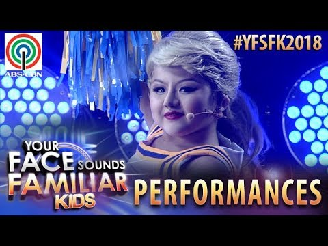 Your Face Sounds Familiar Kids 2018: Chunsa Jung as Taylor Swift   Shake It Off