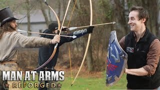 Shields Take Tremendous Power - MAN AT ARMS: REFORGED