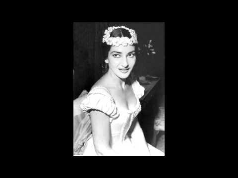 Maria Callas - Amina's Opening Aria Sonnambula Scala 1955