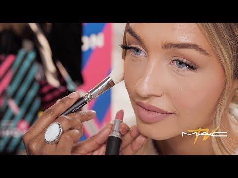 Sammy Robinson Works Unexpected Magic with MAC Powder Kiss Lipstick