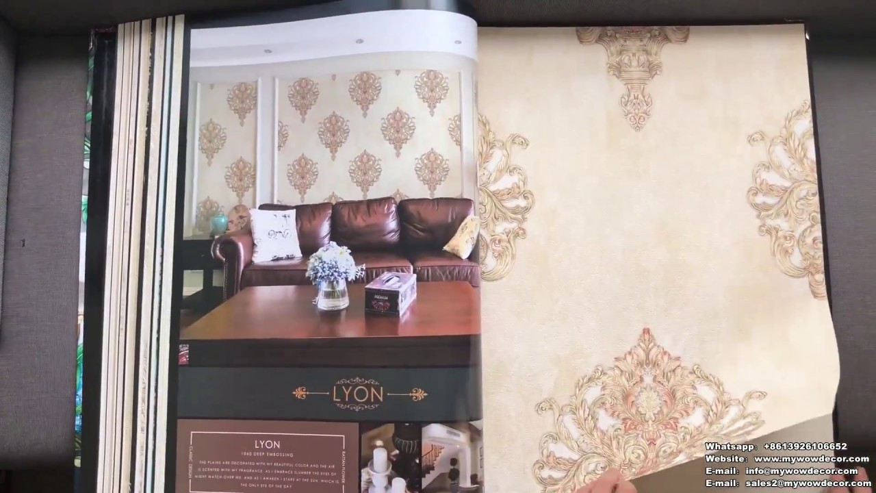 A22 23 Glamorous Design Modern Style 1 06m Korean Pvc Wallpaper For Home Decoration