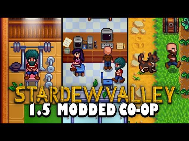 Stardew Valley Modded Co-op 1.5 - Exploring Ridgeside Village [Ep 3]