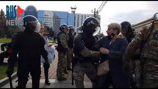⭕️ Хабаровск | ОМОН напал на людей на площади