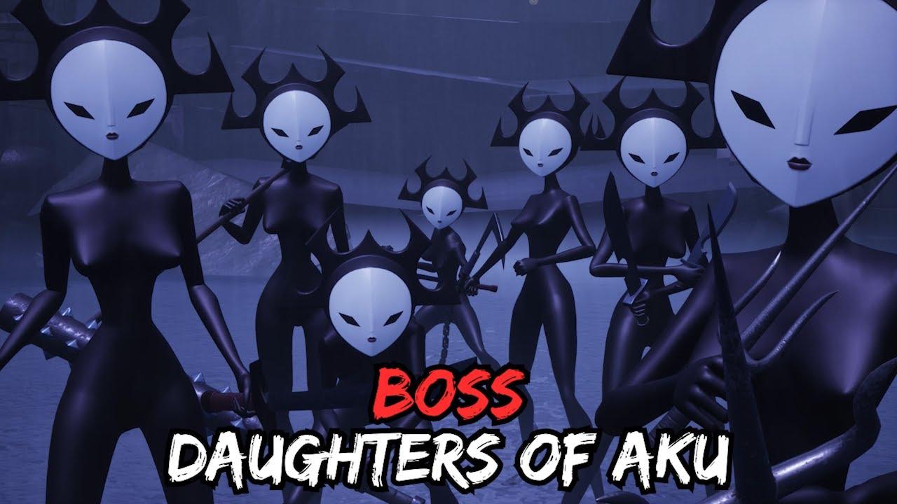 Samurai Jack: Battle Through Time - Daughters of Aku Boss