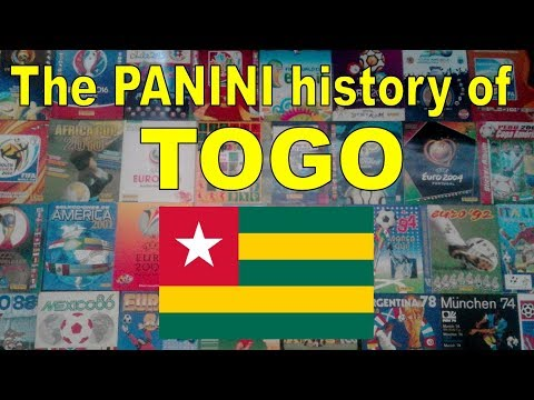 The Panini history of Togo (Men's Soccer Team)
