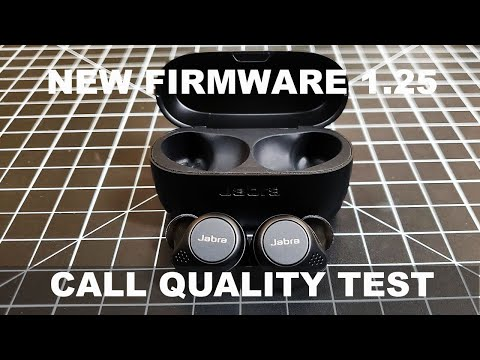 NEW Jabra Elite 75T Review Firmware 1.25 Call Quality Test