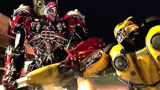 Red Decepticon BREAKS Bumblebee