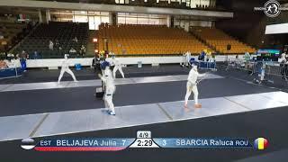 Novi Sad European Championships 2018 Day06 T08 WE EST vs ROU