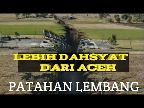 Setelah TSunami Banten Dan Lampung Kini Patahan Lembang Lebih Ngeri Dari Gempa Aceh