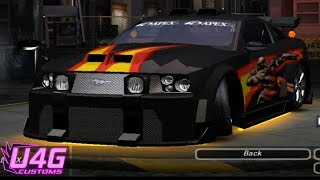 Need For Speed Underground 2 Ford Mustang GT Customization by RASTAKITTEN