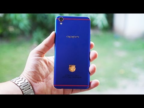 Oppo F1 Plus FC Barcelona Edition First Impressions