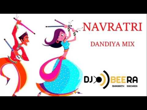 Dandiya Garba Raas Non-Stop Mix | Navratri | Gujarati | Bollywood - DJ Beera
