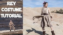 Rey Costume Tutorial - 1 Day Build (Using Mainly Thrifted Items)