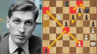 Endgame Lesson from Bobby | Hort vs Fischer  | Palma de Mallorca Interzonal (1970)