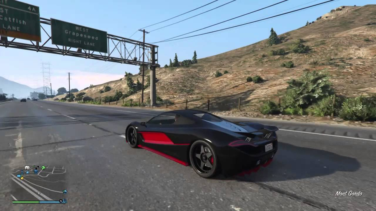 Gta 5 ps4 dlc le crime paie partie 2 test voiture for Voiture garage gta 5