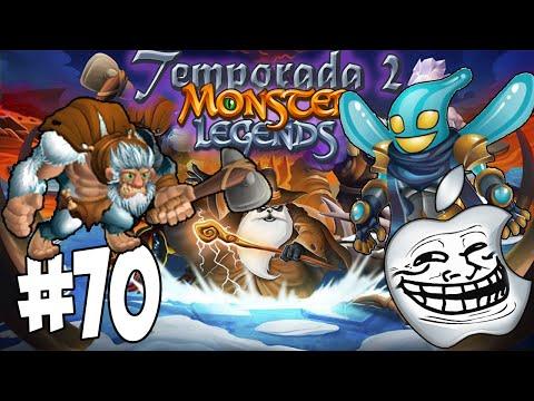 Monster Legends T2 - Capitulo 70 - Neandertaler y Drop Elemental