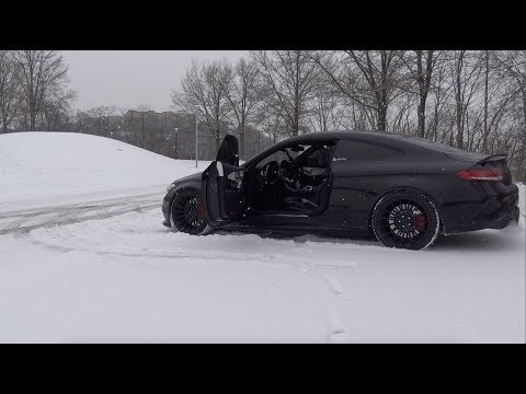 DON'T Drive a C63 AMG In The SNOW!