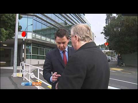 """Spy thriller"" - Filming outside GCSB spy agency headquarters interrupted by ""agency guy"""