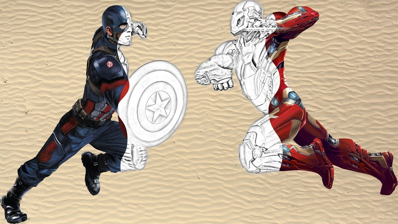 Coloring Books Iron Man Captain America Coloring Pages For ...