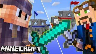 Minecraft WOJNA ZAMKÓW! WALCZĘ Z HAKEREM!