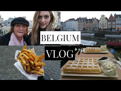 Belgium VLOG | Waffles, Canals & Pretty Buildings!